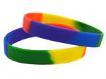 mixed color silicone wristband/bracelet