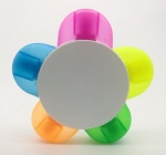 5 colors highlighter pen