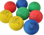 hollow rubber pet ball