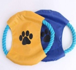 cotton rope pet toy frisbee
